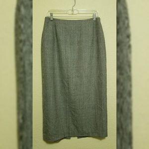 Rafaella 100% pure new wool skirt